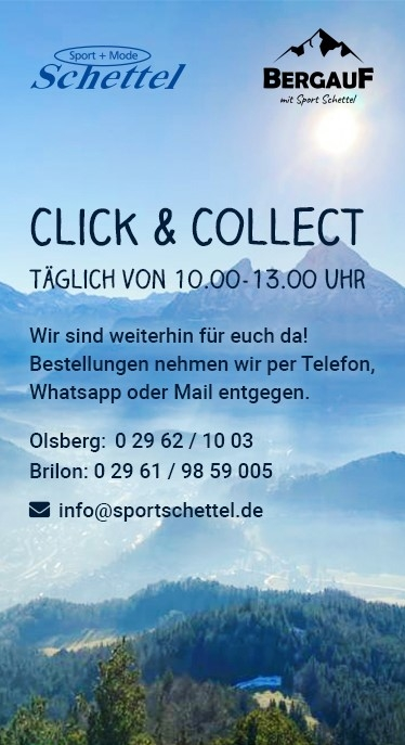 Sport Schettel bietet click and collect